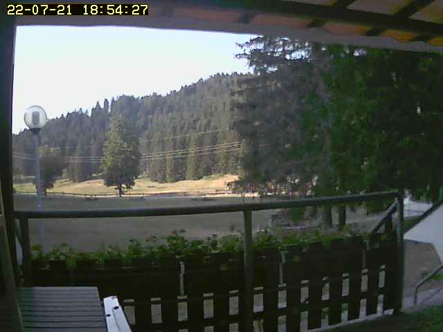 Webcam snow on the ski runs in LAVARONE